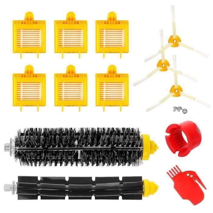 700 Series Accessoire de mise au four pour Irobot Roomba 700 Series Kit de remplacement filtre Hepa brosse M32180