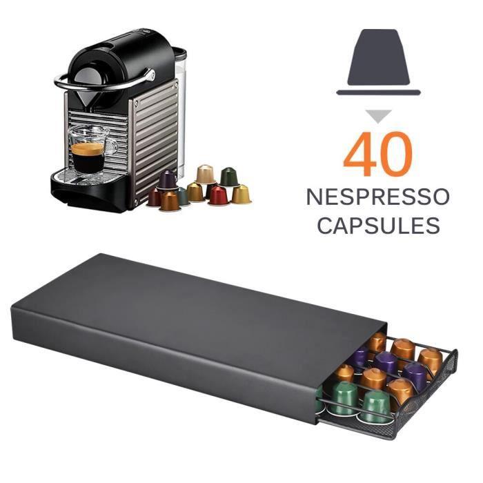 24-40 tasses métal noir café Capsule support de rangement café dosettes support fer chromé support pour Dolce Gusto Caps*DI2202