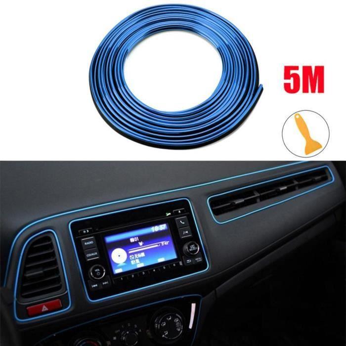 Bande de garniture intérieure de voiture, 5M, autocollants d'intérieur, fente de porte, bord de moulage, ligne décor*KY5704