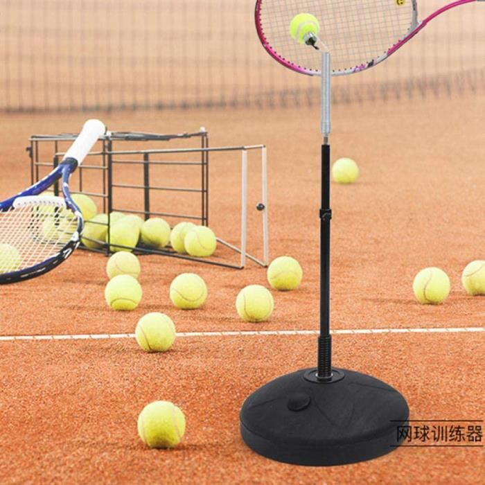 BALLE DE TENNIS OME Portable Tennis Trainer Plastic Tennis Ball Machine Professional SelfStudy Accessories Practice Tool for Beg18