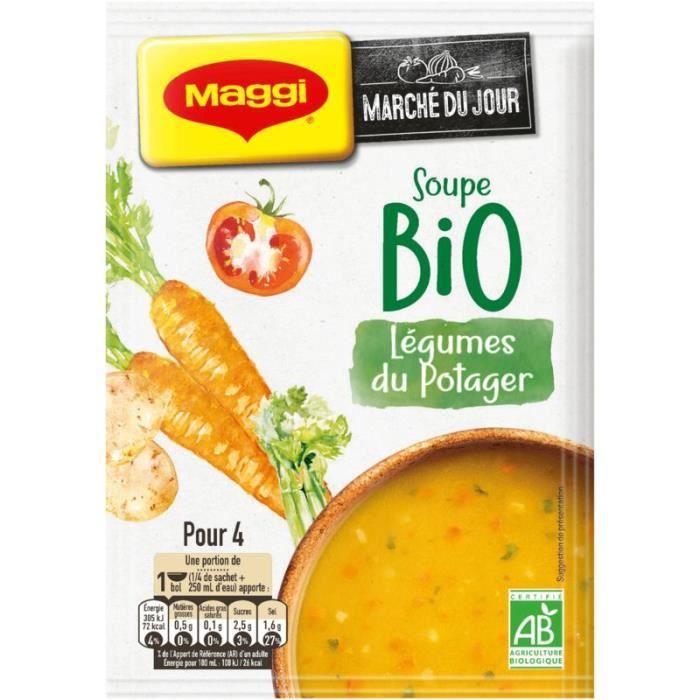 MAGGI Soupe Légumes du Potager - Bio - 90 g