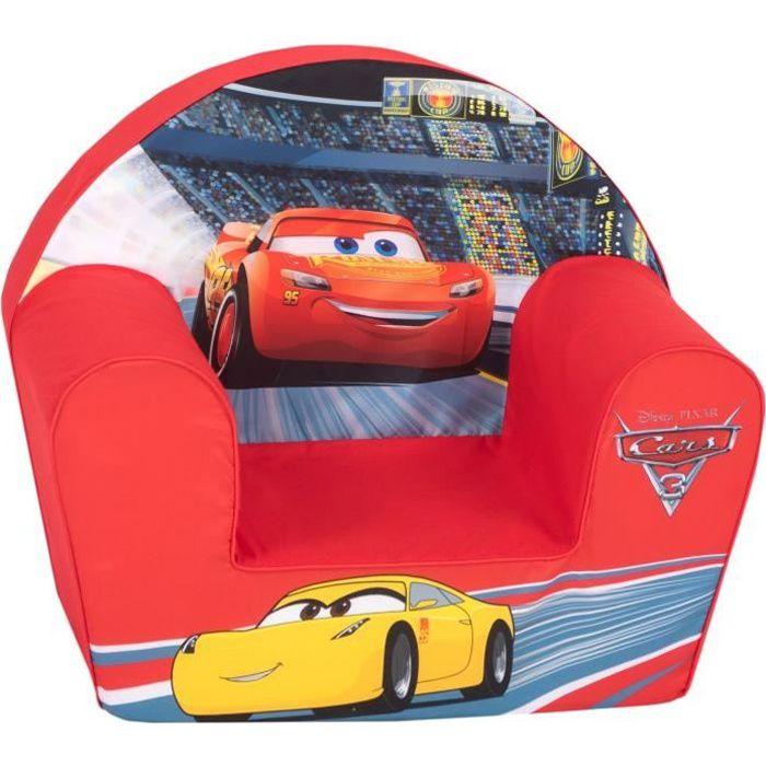 Disney - Cars 3 Fauteuil Rouge