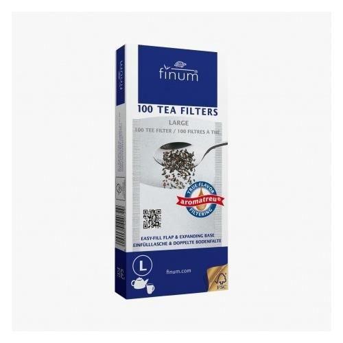 Filtre à thé papier L - Finum