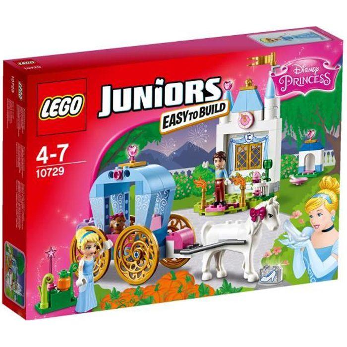 LEGO® Juniors 10729 Le Carrosse de Cendrillon - 116 pièces