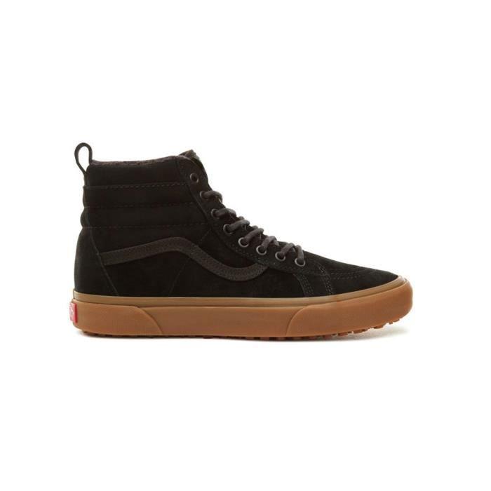 Chaussure Vans SK8-Hi - Sherpa Lined MTE Noir-Gum
