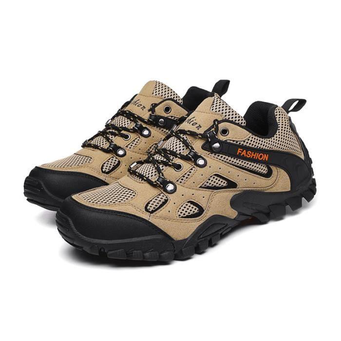Chaussures de Randonnée Homme Activité Extérieur Aération Anti-dérapant Résistant à l'usure