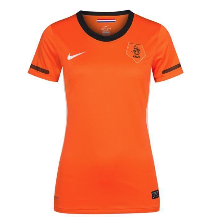 Maillot femme PAYS-BAS Netherland jersey Hollande domicile orange