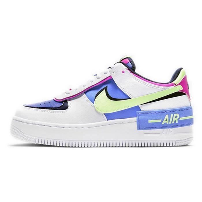 Basket Air Force 1 Shadow Air Force One AF 1 Low Chaussures de Running Femme CJ1641-1100