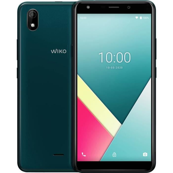 Smartphone double SIM 4G WIKO Y61 WIKY61WK560DEGST 16 GB 6 pouces (15.2 cm) double SIM Android™ 10 8 Mill. pixel vert f