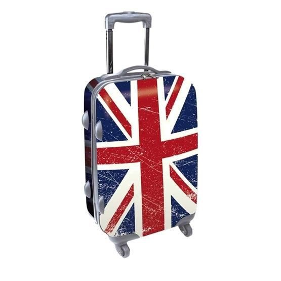 kdo collection valise 50 cm drapeaux anglais achat vente valise bagage 3700791201729. Black Bedroom Furniture Sets. Home Design Ideas