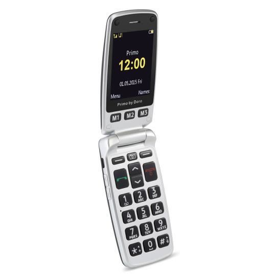 """SMARTPHONE Doro Primo 413, Clapet, 6,1 cm (2.4""""), 2 MP, Bluet"""