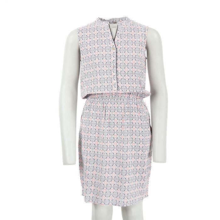Robe Blanche Et Rose A Fleurs Fille Best Mountain Couleur Blanc Taille Vetement 12 Ans Blanc Achat Vente Robe Cdiscount