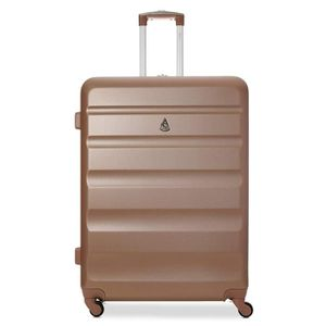 Aerolite ABS rigide 4 ROUES Valise Bagages cabine Hold Petite Moyenne Grande
