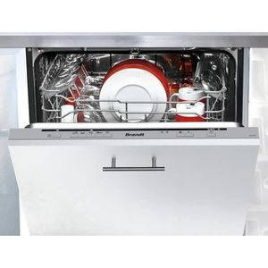 LAVE-VAISSELLE BRANDT VH1772J - Lave vaisselle encastrable - 12 c