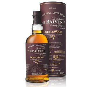 WHISKY BOURBON SCOTCH Balvenie 17 ans double wood 43°