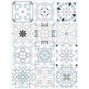 Stickers carreau de ciment 10x10