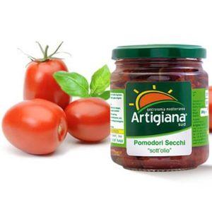 TOMATE Tomates séchées 540 gr - Carton de 6 pièces