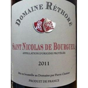 VIN ROUGE domainr rethore saint nicolas de bourgueil rouge 1