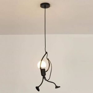 LUSTRE ET SUSPENSION Lustre- E27 Lampe Suspension - Humanoïde Lampes de