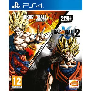 JEU CONSOLE RÉTRO Dragon Ball Xenoverse + Dragon Ball Xenoverse 2 Co