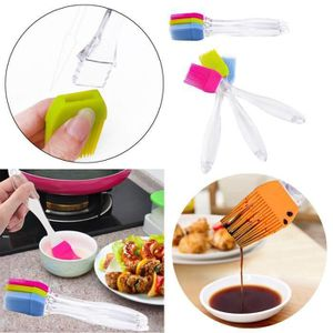 Facilement badigeonner Bakeware Qualité Alimentaire Barbecue Pâtisserie Sweep Brosse Silicone Baking