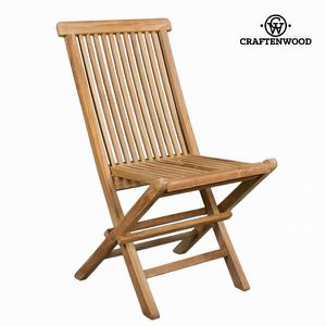 CHAISE Chaise pliante en teck by Craftenwood