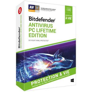 ANTIVIRUS BITDEFENDER Antivirus PC Lifetime Edition 1 PC