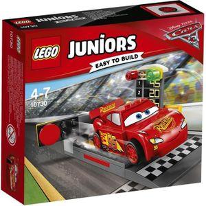 ASSEMBLAGE CONSTRUCTION LEGO® Juniors Cars 3 10730 Le Propulseur de Flash