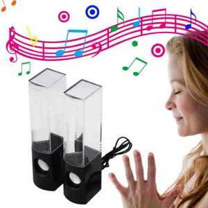 ENCEINTE NOMADE Nouveaux USB Eau Danse Fontaine stéréo Musique Hau