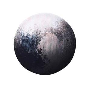 TAPIS DE SOURIS XM2534-Planète Pluton Tapis de Souris Clavier Anti