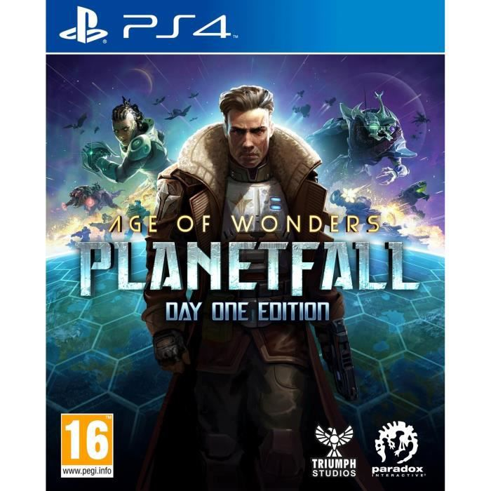 Age Of Wonders : PlanetFall - Day One Edition Jeu PS4
