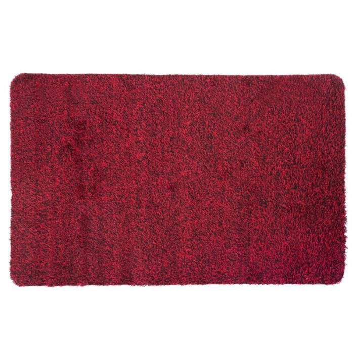 Tapis d'entrée - L 90 x l 60 cm - Rouge 90 cm