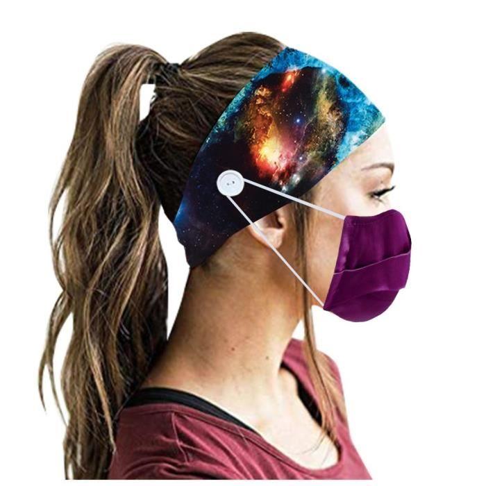 【HARNAIS DE TETE】Hommes Femmes Bandeau Bandeau Running Yoga Élastique Bandeau Cheveux Accessoires De Cheveux - Multicolore53