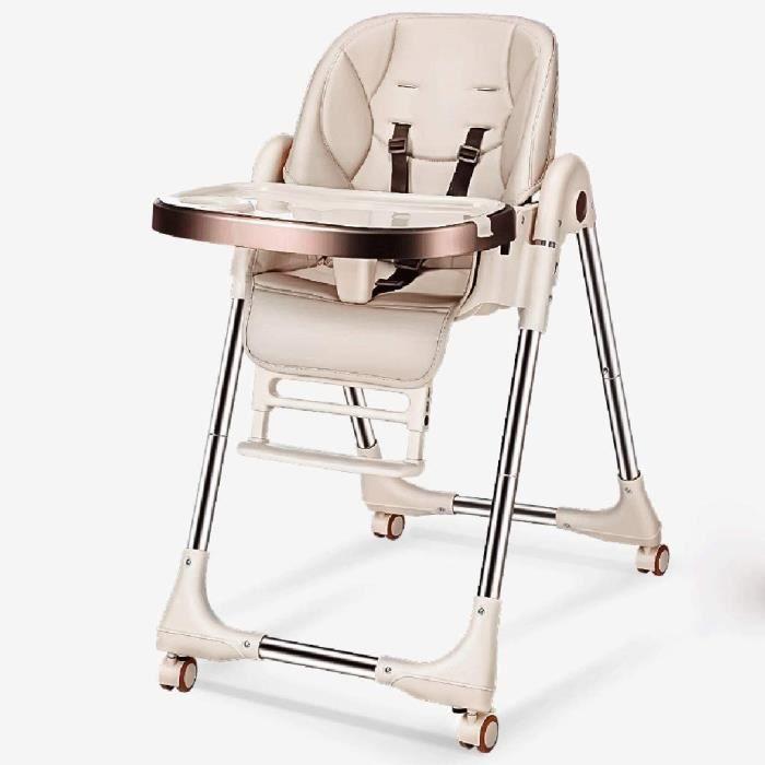 Chaise haute bebe e Haute for beacutebeacute Chaise Haute for beacutebeacute Compact Cuir Souple Pliable entiegraverement reacu575