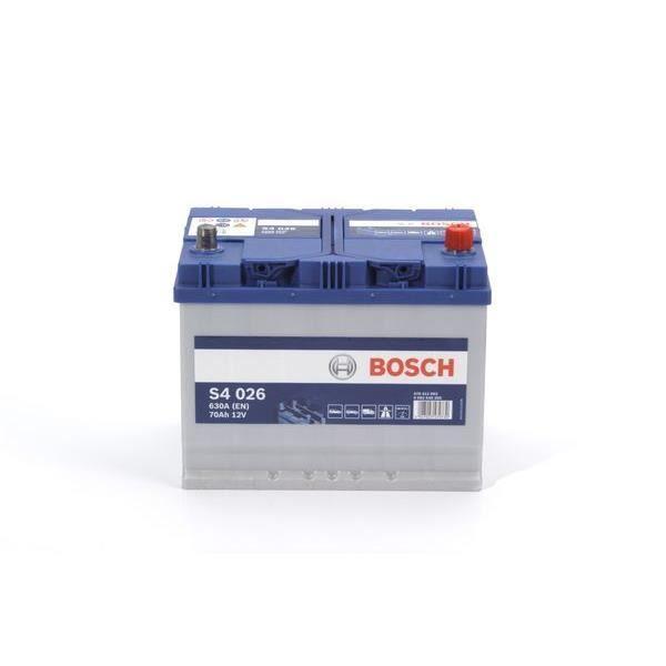 BOSCH Batterie Auto S4026 70Ah/630A
