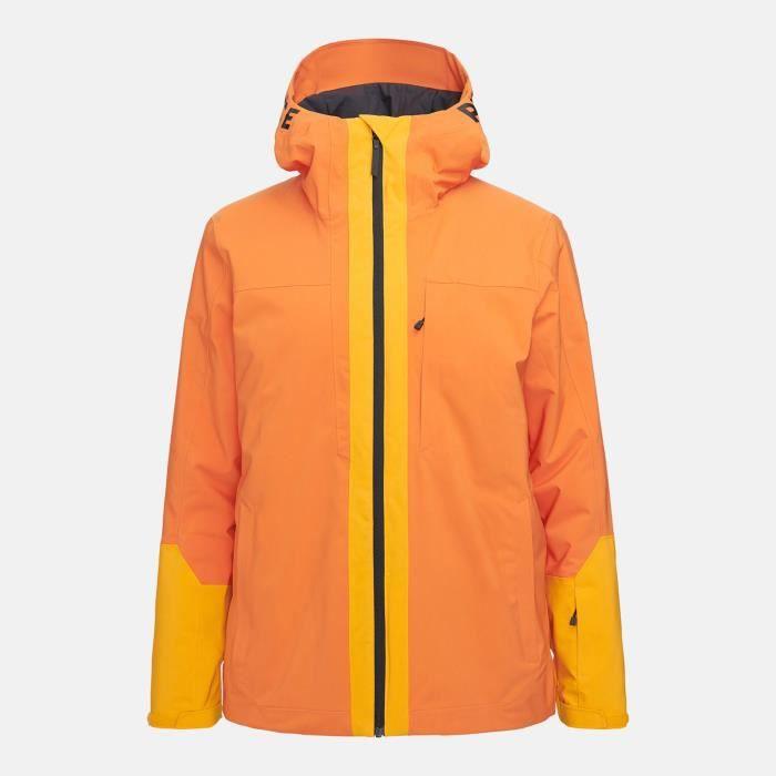 Veste De Ski/snow Peak Performance M Rider Ski Jacket Orange Altitude Homme