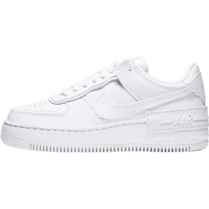 Basket Air Force 1 Shadow Air Force One AF 1 Low Chaussures de Running Femme CI0919-1100