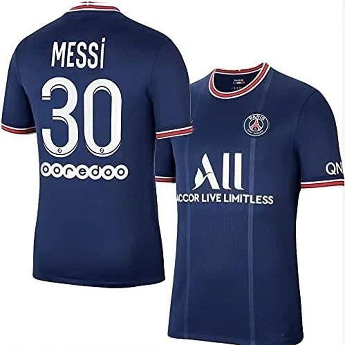 T-Shirt de l'équipe de Paris-Messi -30, Maillot de Formation Messi, équipe de Paris