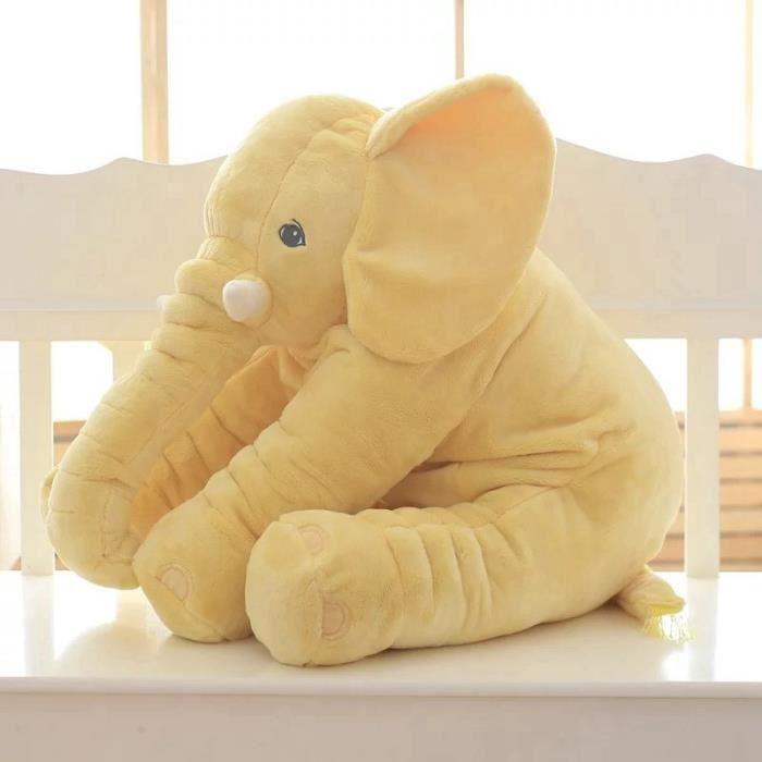 50cm Éléphant géant Jouet en peluche En forme de animal Oreiller Jouets pour bébés Décoration intérieure