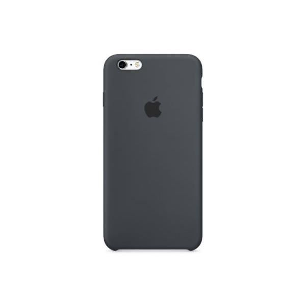 apple coque en silicone pour iphone 6 6s gris charbon achat coque bumper pas cher avis et. Black Bedroom Furniture Sets. Home Design Ideas