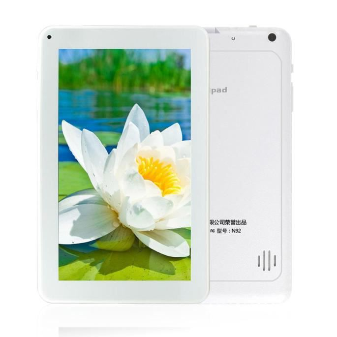 TABLETTE TACTILE Noellesly®Android 4.4 Gigaoctet + 8Go WIFI Bluetoo