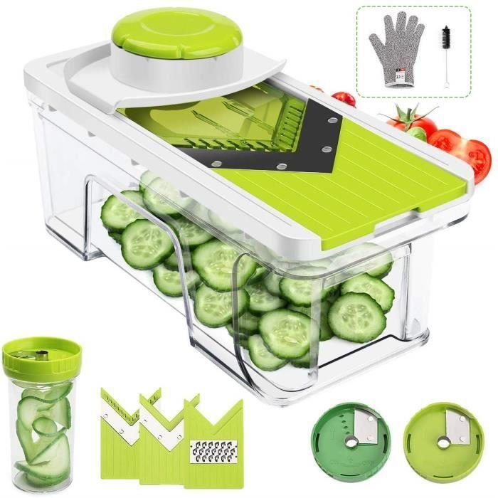 Photo de mandoline-cuisine-5-en-1-multifonction-coupe-legumes-et-fruits-rapidement