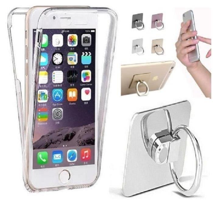coque iphone 5c silicone integrale avant arriere g