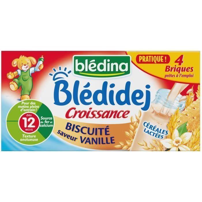 LAIT BÉBÉ [LOT DE 3] BLEDINA Blédidej Croissance Lait et cér