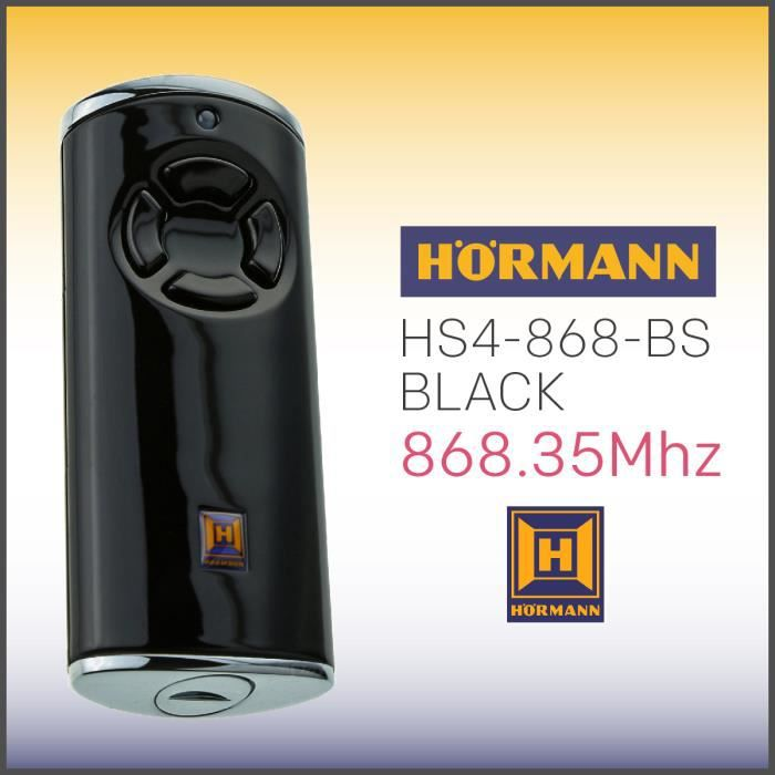 Émetteurs portatifs Hörmann hs4 BiSecur
