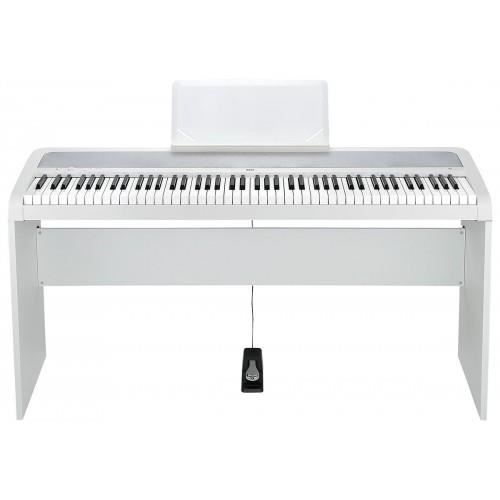 pack korg b1 blanc piano num rique 88 notes stand pas. Black Bedroom Furniture Sets. Home Design Ideas