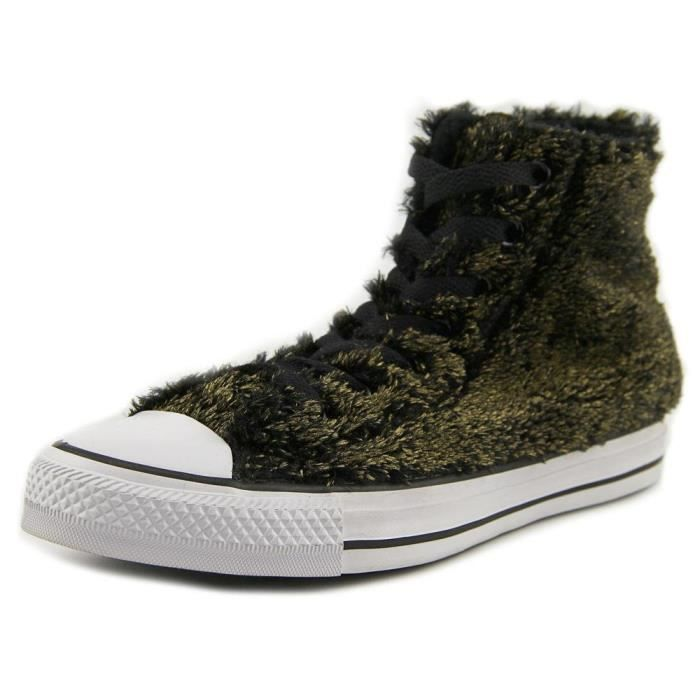 Converse Chuck Taylor All Star Metallic Faux Fur Sneakers V5ZRP Taille-37