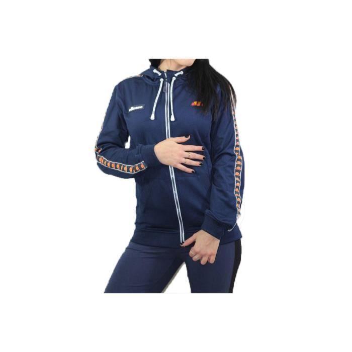 Ellesse Heritage Sweat ZIP Capuche SWS Veste Sport Femme