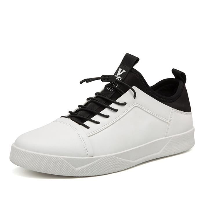 Homme Léger Baskets de Chaussures Sneakers Confortable Sports Basses dwxq7EYv