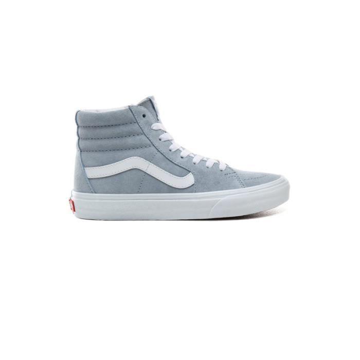 vans bleu gris